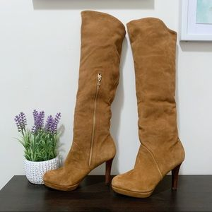 Brooks Brothers Tall Suede Boots